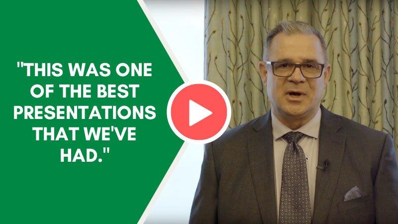 Video Testimonial–Patrick LaCava | EVP of Operations, Syufy